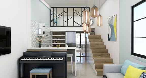 Giải pháp thiết kế nội thất căn hộ chung cư diện tích nhỏ