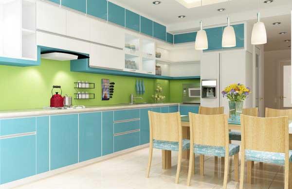 Mẹo thiết kế phòng bếp hiện đại chỉ với 30 triệu đồng