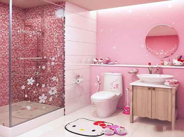 Mẹo trang trí phòng tắm đẹp mê ly cho bé cưng