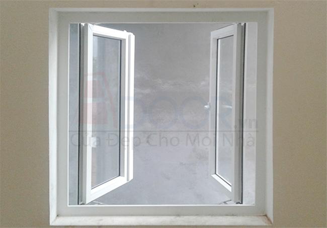Tổng hợp các mẫu cửa sổ nhựa lõi thép đẹp được yêu thích hiện nay
