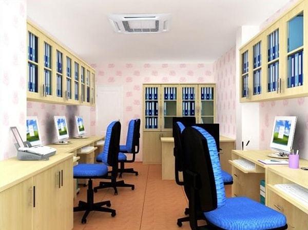 Thiết kế nội thất cho văn phòng xuất nhập khẩu có diện tích nhỏ