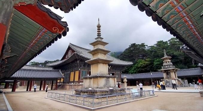 Chùa Bulguksa Hàn Quốc là niềm tự hào của người dân xứ sở Kim Chi