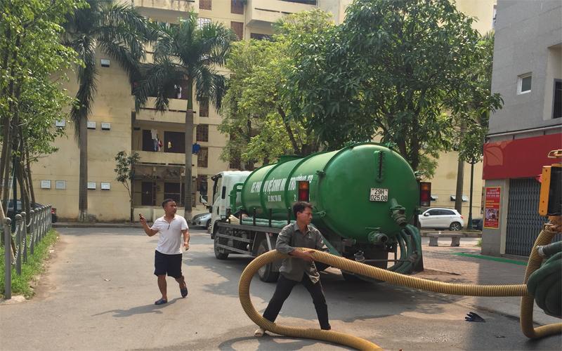 Dịch vụ hút bê phốt chuyên nghiệp tại Hưng Yên