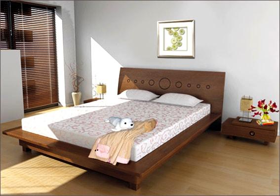 Kích thước tiêu chuẩn khi thiết kế nội thất phòng ngủ hiện đại