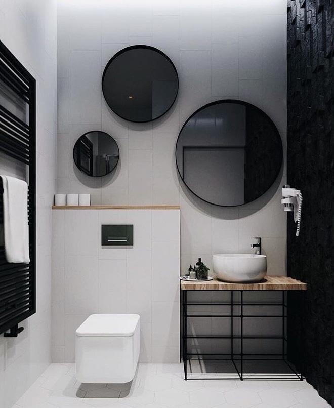 Những mẫu thiết kế gương nhà tắm cực độc đáo