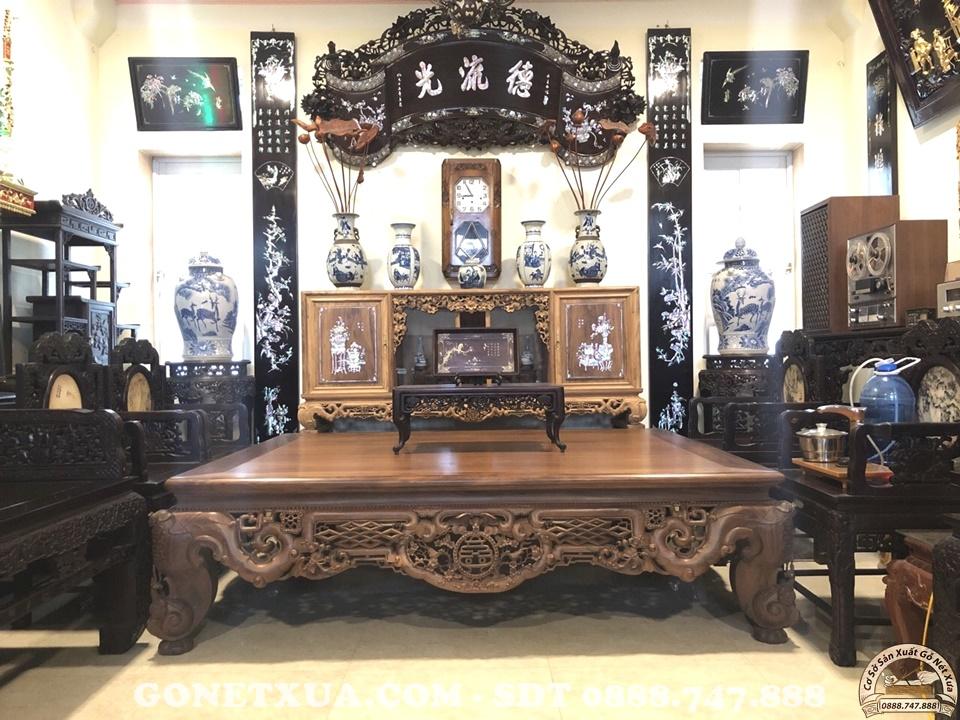 Sập gụ tủ chè Nam Định – Đồ trang trí nội thất hết sức cần thiết