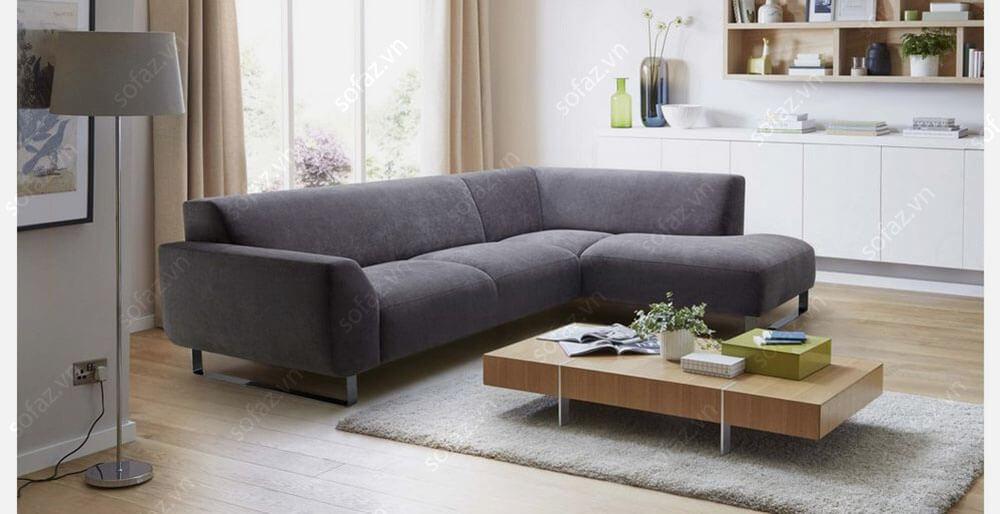 Ghế sofa góc bọc chất liệu vải có đặc điểm gì đặc trưng?
