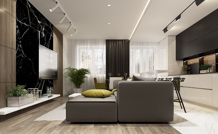 Chọn nội thất chung cư hiện đại cần lưu ý gì?