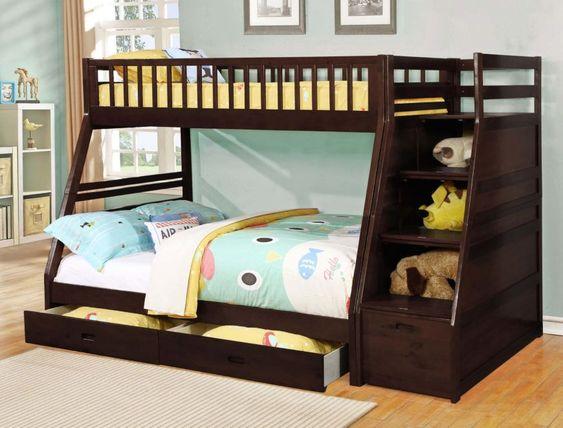 Nên chọn chất liệu nào tốt khi chọn mua giường tầng bé gái