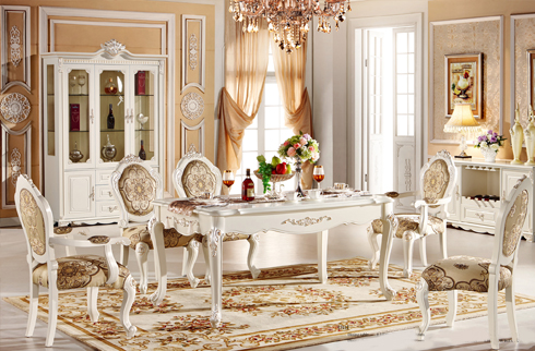Lựa chọn bàn ăn cổ điển cao cấp phong cách châu âu