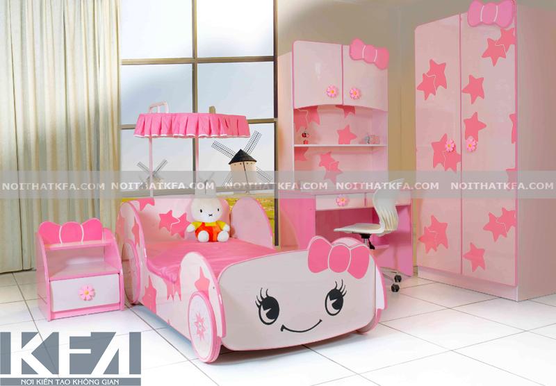 Mách bạn những ý tưởng trang trí phòng ngủ bé gái siêu đáng yêu