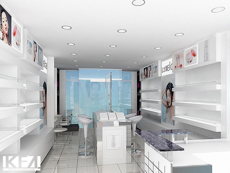 Thi công nội thất cửa hàng trọn gói giá rẻ tại Nghệ An