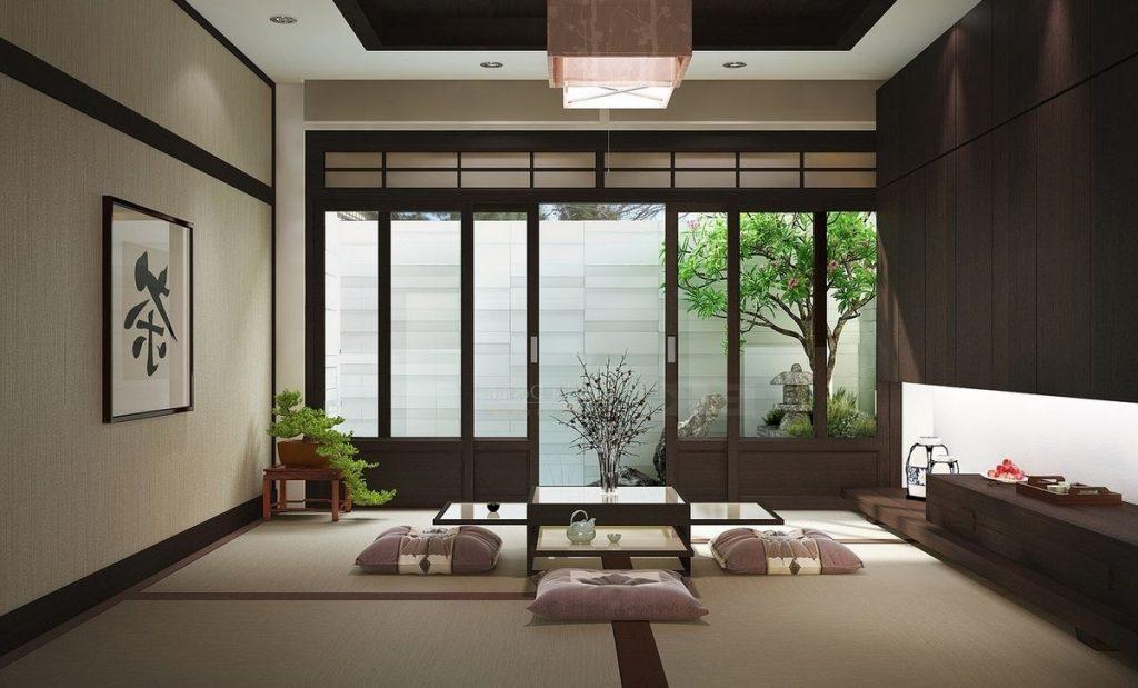 Phong cách nội thất kiểu Nhật và những điều chưa biết