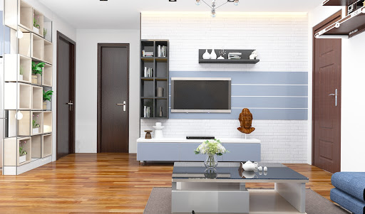 Thiết kế nội thất chung cư 95m2 nhà anh Long ở Mỹ Đình