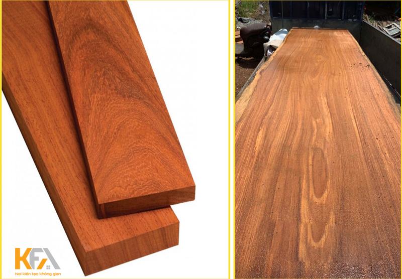 Gỗ gõ đỏ và gỗ hương nên chọn loại nào cho nội thất căn hộ nhà bạn