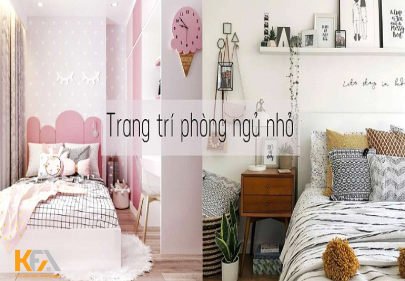 Mẹo nhỏ giúp bạn Decor phòng ngủ nhỏ siêu đẹp